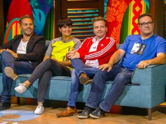 Peter Van de Veire, Eva Daeleman, Udo en kandidaat Nick