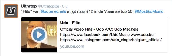 ultratop tweet